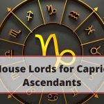 All House Lords for Capricorn Ascendants